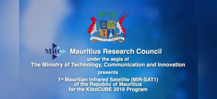 Maurice lance son premier satellite dans l'espace
