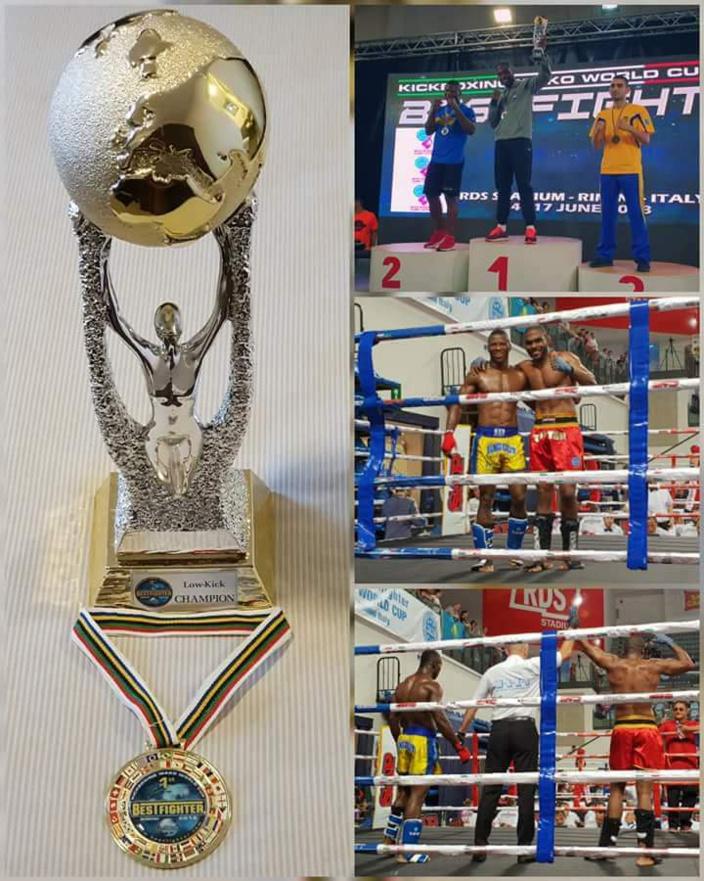 Pluie de médailles, le kick boxing à l'honneur
