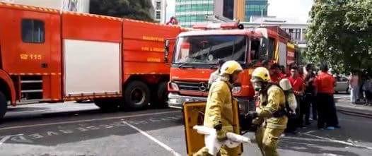 Selon un mail anonyme, l'incendie du restaurant Panarottis est un attentat