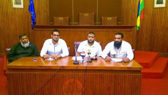 La Voix musulmane et son président Nadeem Edoo