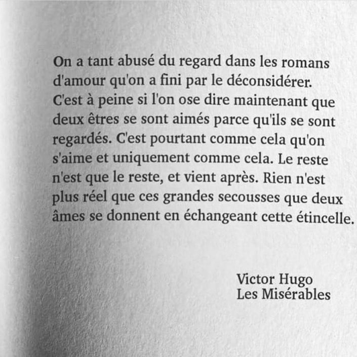 Extrait : Les Misérables de Victor Hugo