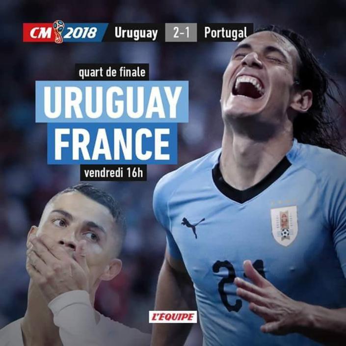 Les Bleus défieront l'Uruguay en quarts !