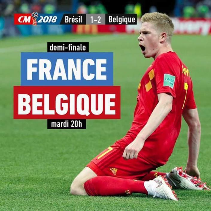 Mondial 2018 : La Belgique élimine le Brésil !