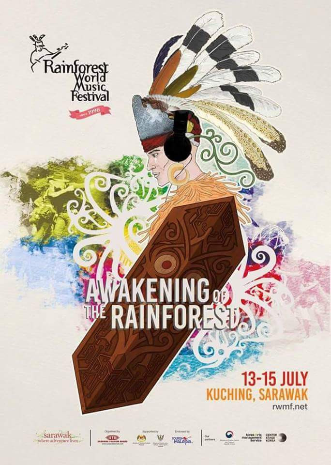 Des mauriciens à la Rain Forest Music Festival de Bornéo