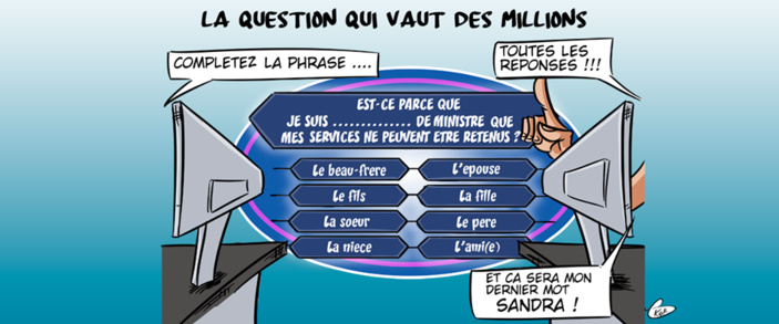 """La version mauricienne """" Qui veut gagner des millions"""""""