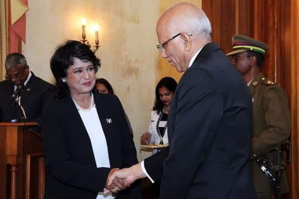 [Présidence] Le chef juge Kheshoe Parsad Matadeen remplacera Barlen Vyapoory en son absence