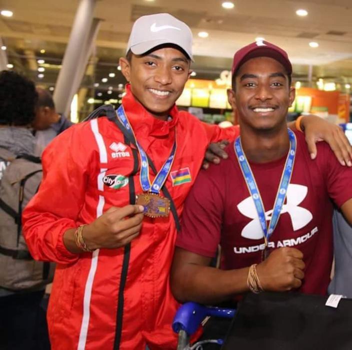 Jeux d'Afrique de la Jeunesse 2018 :DORIAN MADANAMOOTOO DÉCROCHE TROIS MÉDAILLES D'OR À ALGER