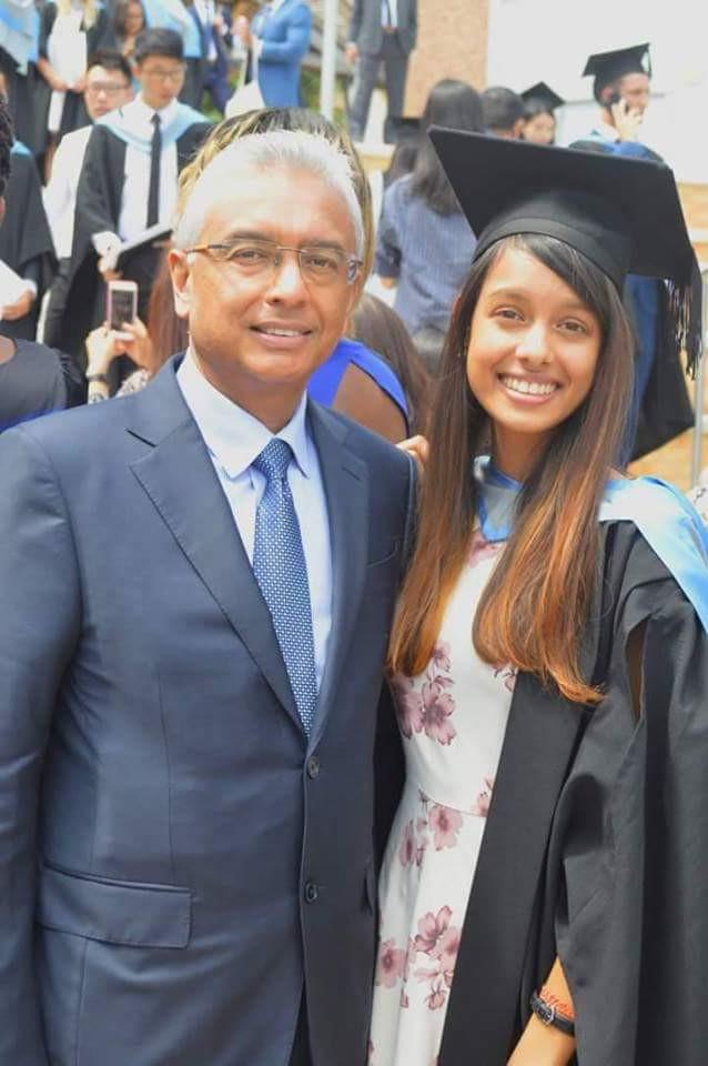 Pravind Jugnauth en Europe pour le diplôme de sa fille