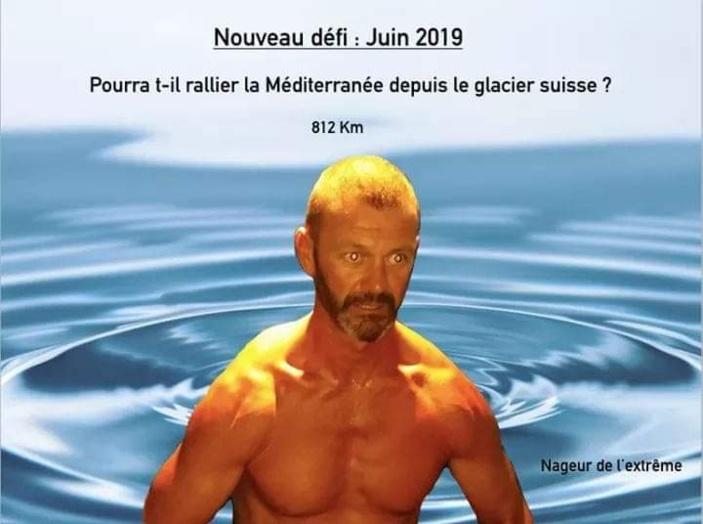 Lilian Eymeric, le nageur de l'extrême se lance un nouveau défi après la traversée en mer entre Maurice et la Réunion