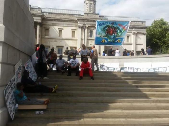 [Diaporama] Les Chagossiens manifestent à Londres