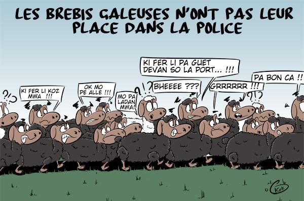 [KOK] Le dessin du jour : Entre les brebis galeuses et les moutons de Panurge...