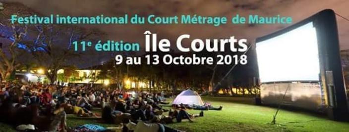 11 ème édition du Festival de court métrage Ile Courts du 9 au 13 octobre 2018