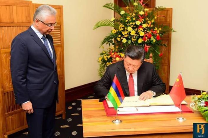 Visite du président chinois : la Chine accorde une aide de Rs 754 millions à Maurice