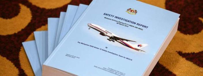 DISPARITION DU VOL MH370 : UN RAPPORT D'ENQUETE FINAL A ETE PUBLIÉ CE LUNDI 30 JUILLET