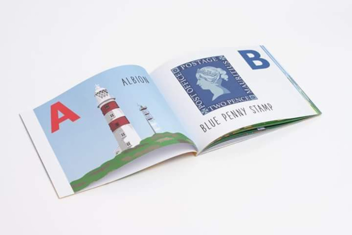 Livre pour enfants : The A-Z of Mauritius de Elaine Hobson