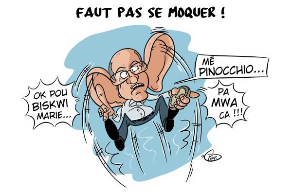 """[KOK] Le dessin du jour : """"Biscuit Marie""""...""""Pinocchio""""..."""