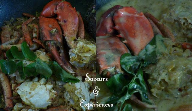 La recette d'Emmanuelle : Curry de Crabe Cassé de l'Ile Maurice