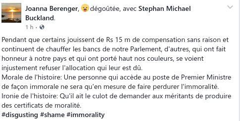 Message Facebook