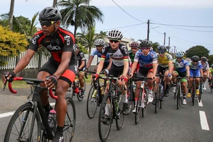 Tour cycliste de la Réunion 2018: Christopher Lagane (Team Maurice MCB) s'est imposé sur le contre-la-montre sur la 7e étape.