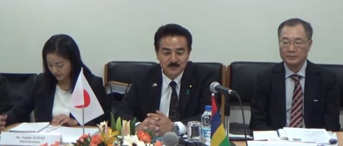 Négociation pour un accord de pêche entre Maurice et le Japon