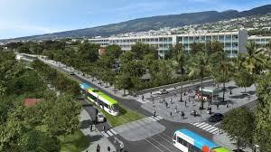 Ile de la Réunion : Projet de tramway St-Denis/Ste-Marie