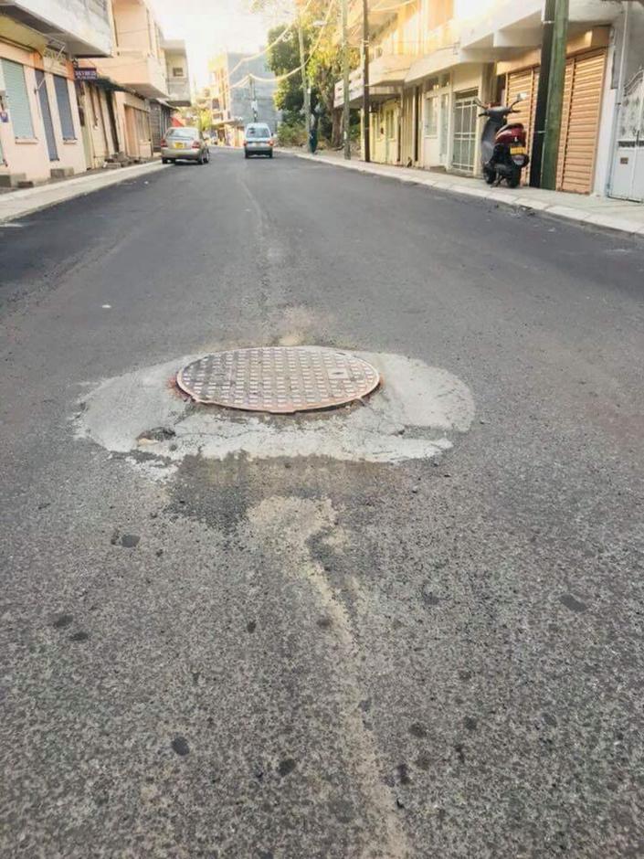 Image du jour : Amateurisme à la rue d'Entrecasteaux, Port-Louis