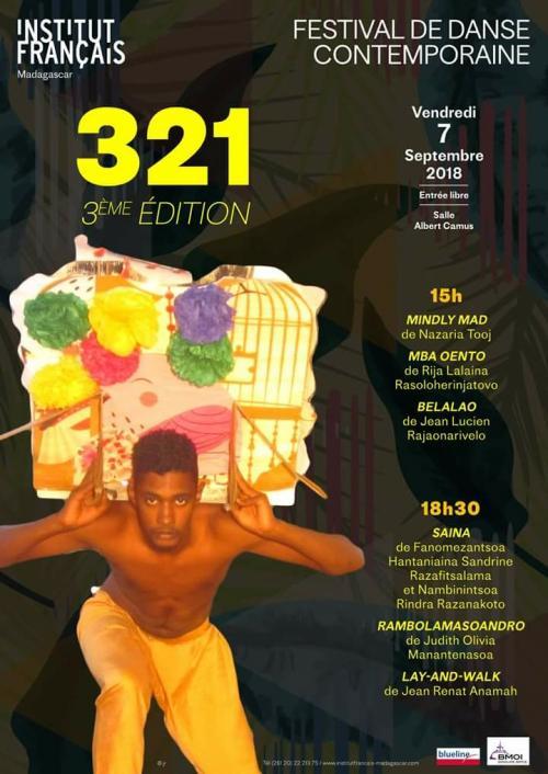 Danse Contemporaine - Des Mauriciens présents au Festival 321 à Madagascar
