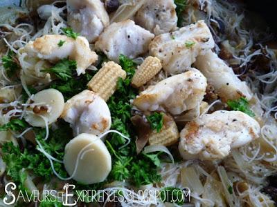 La recette d'Emmanuelle : Bouillon de Meefoon au Poisson à la Mauricienne