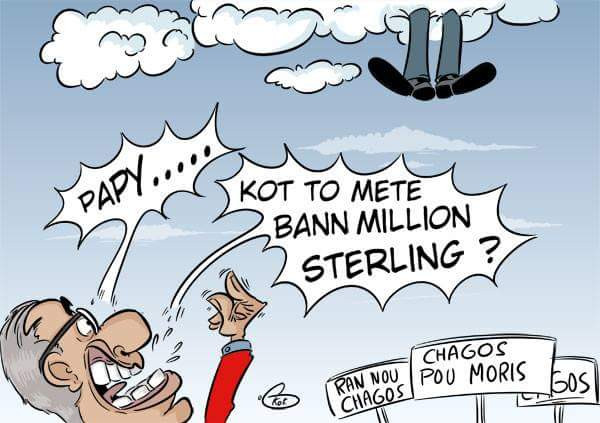 [KOK] Le dessin du jour : Kot To Mete Bann Million Sterling ?