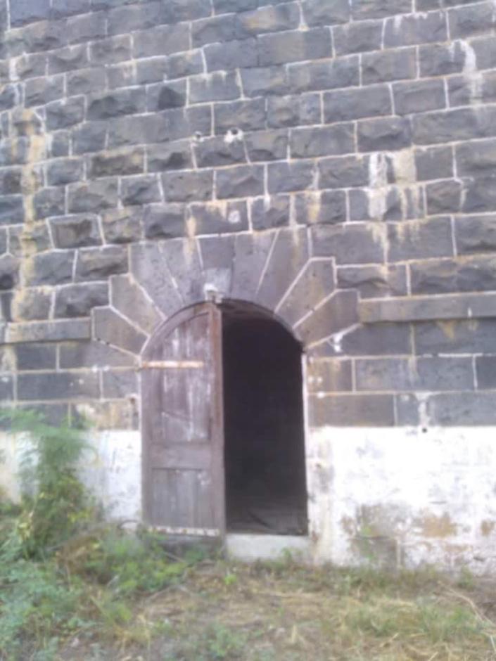 Porte arrachée, Fort George