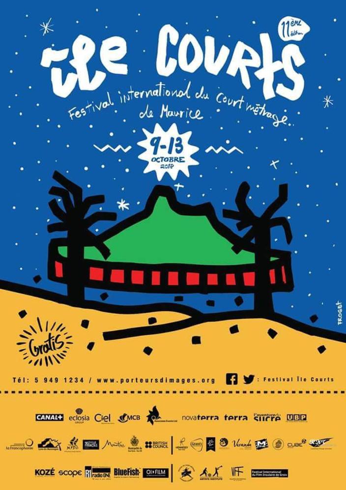 La programmation du 11e édition du Festival Île Courts qui se tiendra du 9 au 13 octobre