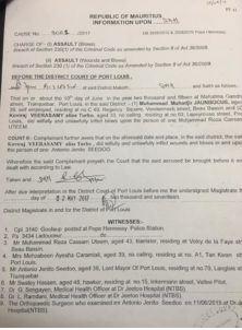 Procès pour diffamation alléguée : Uteem et Jadoo-Jaunbocus trouvent un compromis