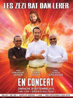 Concert évangélique : Laiss Zezi Bat Dan Leker le 30 septembre à Gros Cailloux