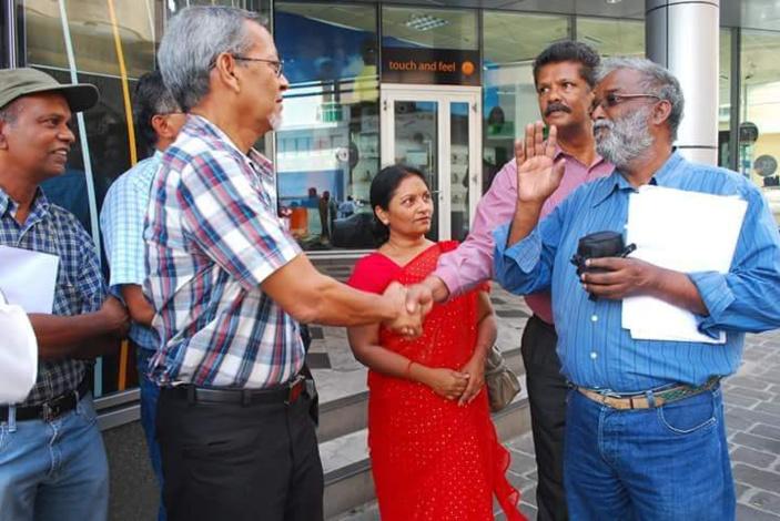 [Diaporama] Décès du syndicaliste Vishnu Jugdhurry : Rajen Valayden lui rend un vibrant hommage