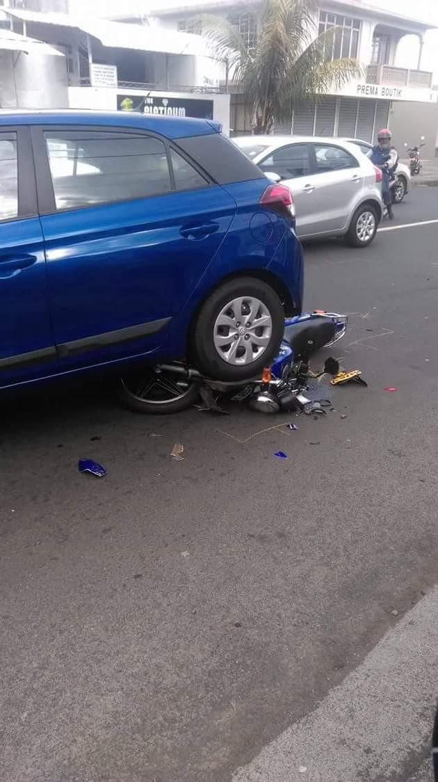 Image du jour : Accident à Chebel
