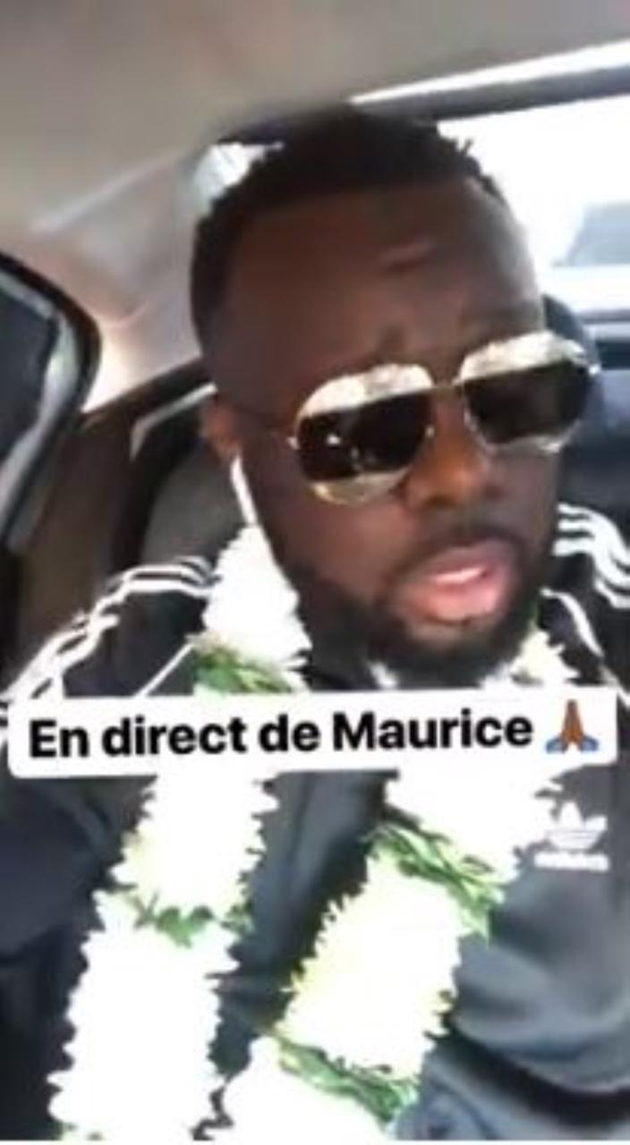 [Vidéo] Le message de Maitre Gims à son public mauricien