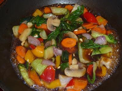 La recette d'Emmanuelle : Le Chop Suey de Légumes de Maurice
