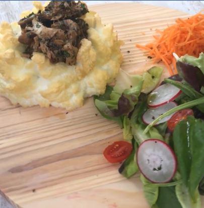 [Vidéo] La recette de Chef Zourit : Lapin aux Champignons
