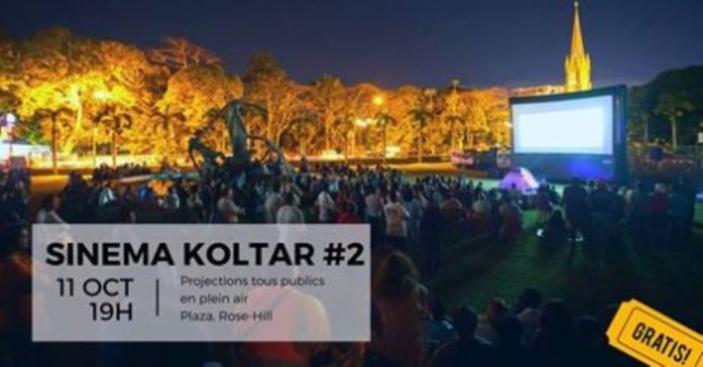 [Vidéo] Festival Île Courts :  Sinema Koltar  2 au Plaza de Rose-Hill à 19h