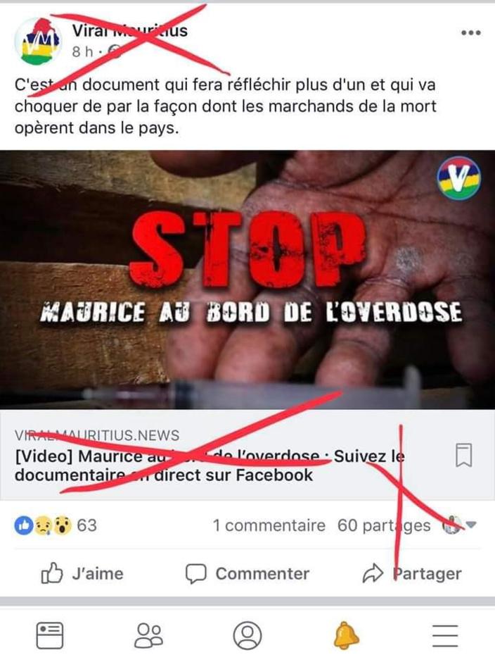 Stop au plagiat Viral Mauritius !