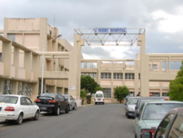 Hôpital Jawaharlal Nehru, à Rose-Belle