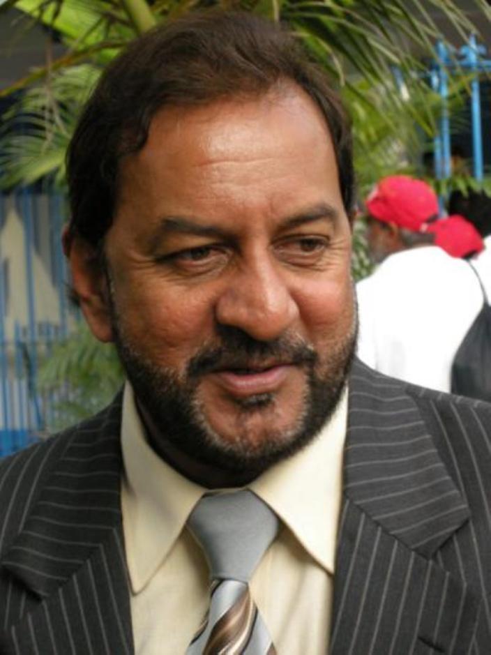 L'ex-ministre travailliste de la Jeunesse et des Sports Devanand Rittoo