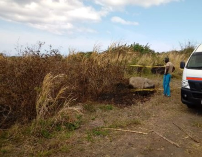 Corps calciné à Saint Félix : La thèse d'un meurtre évoquée