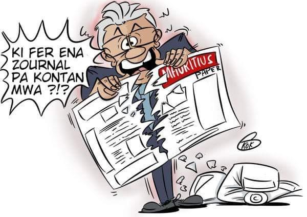 L'actualité vu par KOK : Quand le Premier ministre s'en prend à la presse libre...