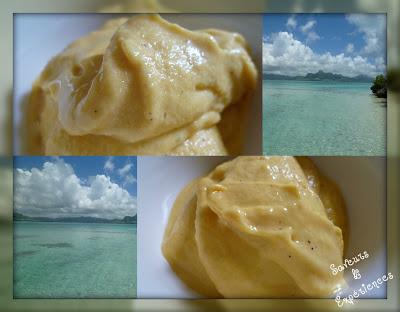 La recette d'Emmanuelle : Glace Mangue Banane Kiwi au Lait Fermenté en 3 minutes!
