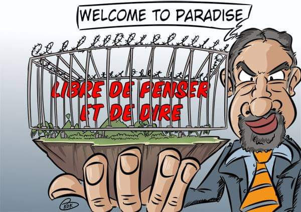 [KOK] Le dessin du jour : Welcome to Paradise