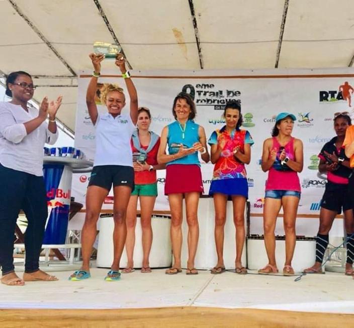 [Diaporama] David Hauss vainqueur du Trail de Rodrigues 2018