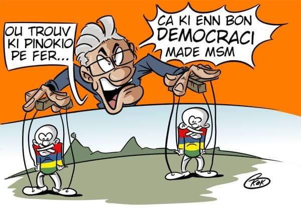 [KOK] Le dessin du jour : Vive Pinokio !