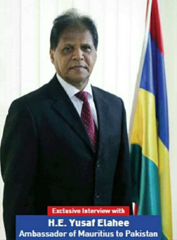 Décès de Yusuf Elahee, ancien ambassadeur de Maurice au Pakistan