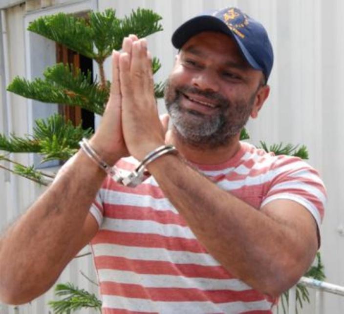 Vishal Shibchurn serait impliqué  dans l'acte de vandalisme à Gros Billot